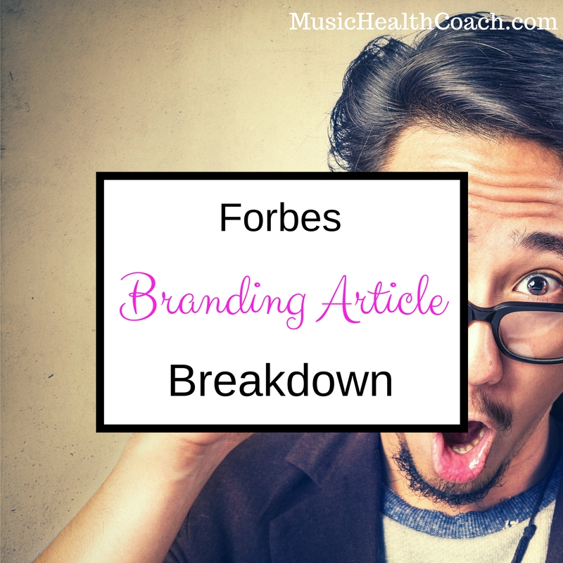 Forbes Branding Article Breakdown